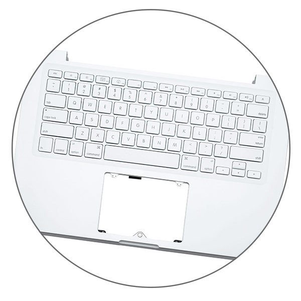 MacBook A1342 keyboard replacement