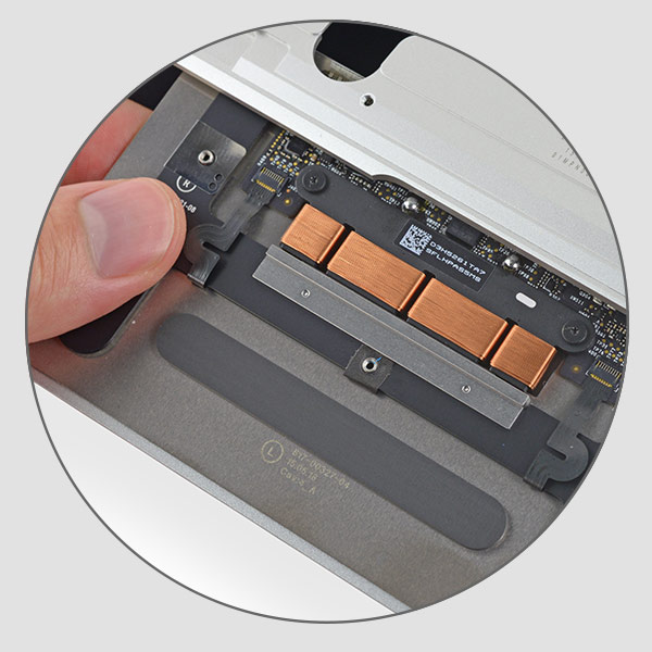 MacBook A1534 trackpad replacement